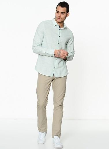 Lee Cooper Uzun Kollu Gömlek Yeşil